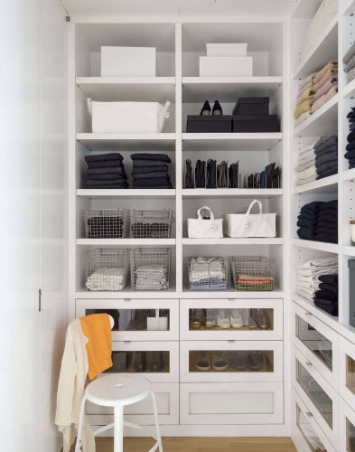 Archive Dive: 13 Favorite Closets with Ingenious Clothing Storage Solutions - The Organized Home