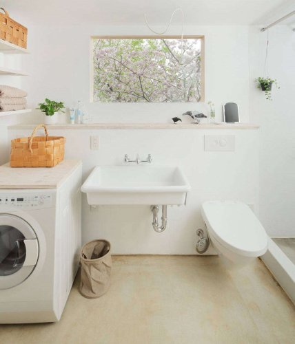 An Easy DIY Countertop Hack for the Washer/Dryer