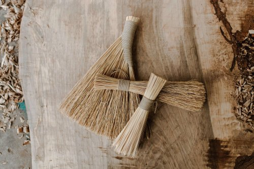 Poetic( and Practical) Brooms from Sunhouse Craft in Kentucky - The Organized Home