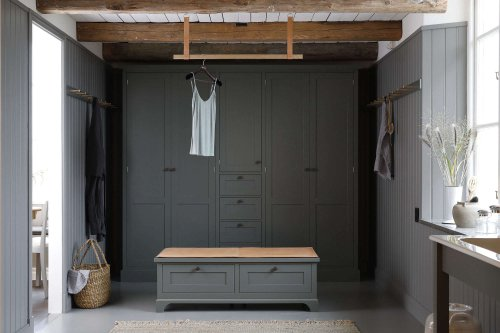 Steal This Look: A Dream Dressing Room in Shades of Gray - The Organized Home