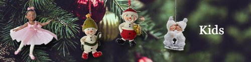 Buy Personalized Kids Christmas Ornaments - Ornaments By Elves