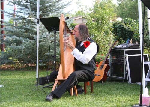 Grady Booch, IBM Fellow on the Celtic Harp and Dulcimer