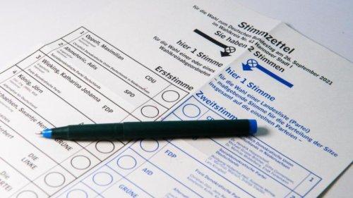 Bundestagswahl 2021 in Rheinland-Pfalz: Ergebnisse und Hochrechnungen