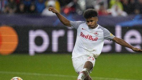 Salzburg-Trainer Jaissle: Adeyemi fit für Wolfsburg-Spiel