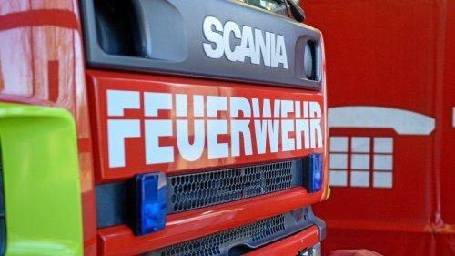 Mehrfamilienhaus in Zeulenroda-Triebes brennt