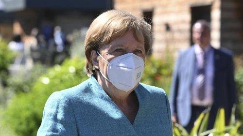 Merkel nach erstem Treffen mit US-Präsident Biden zufrieden