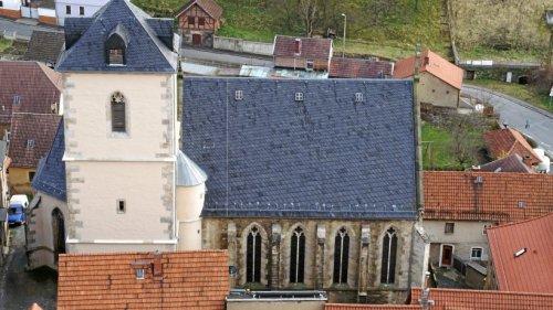 Großer Kirchenputz in Ranis vorm Denkmaltag-Auftritt