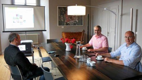 Nordhäuser Landrat zum Arbeitsbesuch in Saalfeld-Rudolstadt