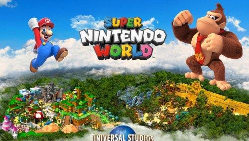 Le parc d'attractions Super Nintendo World s'offre une extension « Donkey Kong »