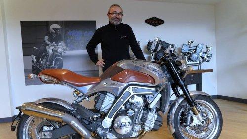 REPORTAGE. Près d'Angers, l'incroyable aventure de Midual, la moto la plus chère du monde
