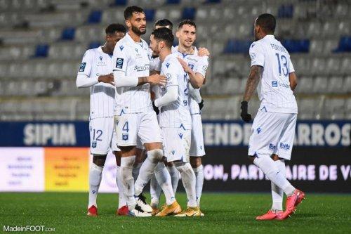 L'AJ Auxerre cartonne le Grenoble Foot 38