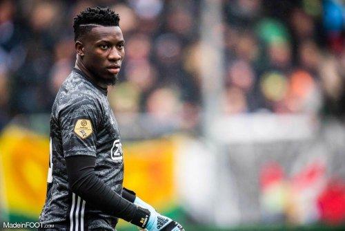 Edwin Van der Sar confirme les discussions entre l'Ajax et Lyon au sujet d'André Onana