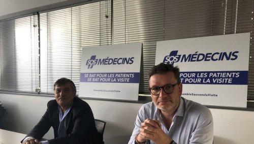 Nantes. SOS Médecins en grève contre la mort programmée des visites à domicile   Presse Océan