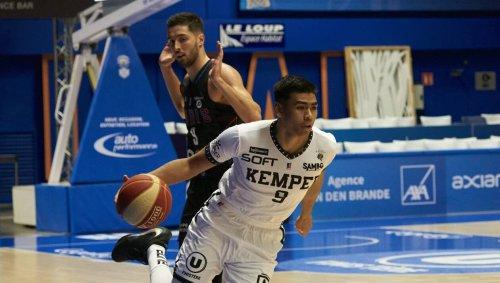 Basket-ball. Leaders Cup : les Quimpérois tombent à Rouen