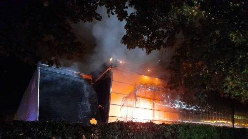Vannes. Un incendie a ravagé le gymnase du collège Saint-Exupéry