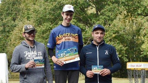 Disc golf. Challenge National. Un Sarthois de 15 ans sacré en...seniors