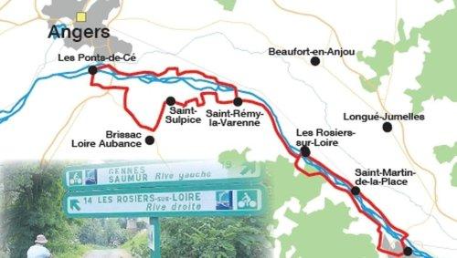 Maine-et-Loire. « On a l'impression d'être au bord de la mer », la Loire à vélo, de Saumur à Angers