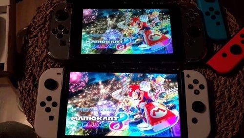 Jeux vidéo. Il filme la Nintendo Switch OLED à côté de la classique et compare les performances