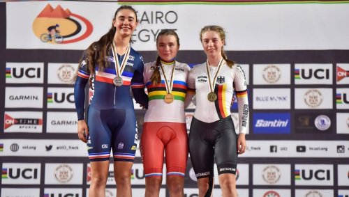 Cyclisme sur piste. Trois médailles d'argent pour Bénédicte Ollier aux championnats du monde !