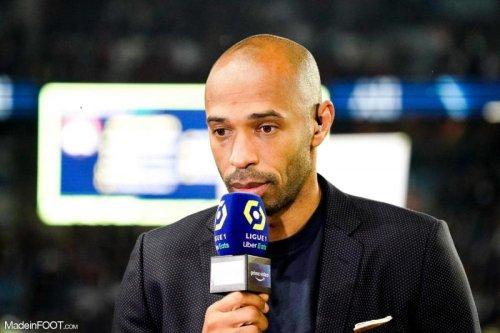 Thierry Henry ravi de l'accueil du public français