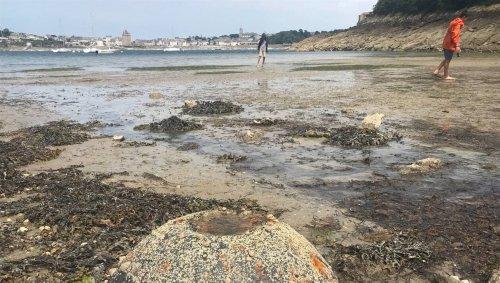 Objets intrigants sur la plage de Dinard : le danger écarté, le mystère pas tout à fait levé