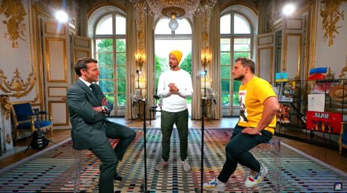 McFly et Carlito avec Emmanuel Macron : influenceurs et politique, un atout pour la démocratie ? - Le Drenche