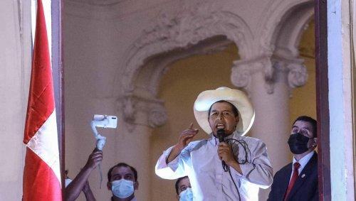Pérou : le nouveau président Pedro Castillo déjà isolé