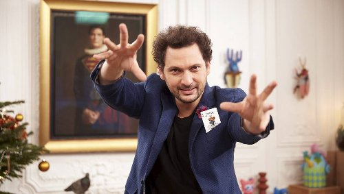 Le magicien-humouriste Éric-Antoine fait son show en direct sur Gulli