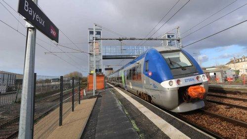 Train Caen - Cherbourg. Le trafic SNCF interrompu à cause d'une pierre près de Bayeux