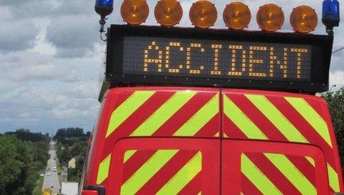 VIDÉO. Sur l'A35 en Alsace, des automobilistes se précipitent sur des capsules de café après un accident de camions