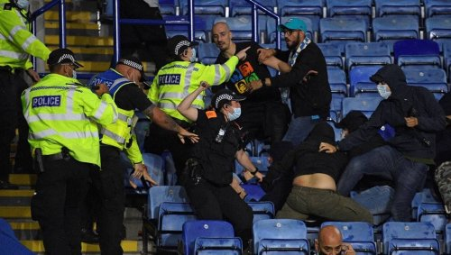 Ligue Europa. Neuf arrestations après une bagarre entre supporters lors du match Naples-Leicester
