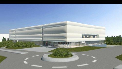 VIDÉO. Hennebont : découvrez les premières images du futur centre de tennis de table