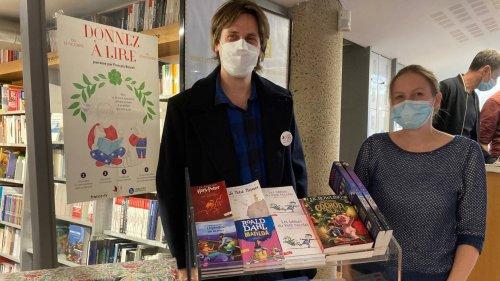 Brest. Ils récoltent des livres neufs pour le Noël des enfants