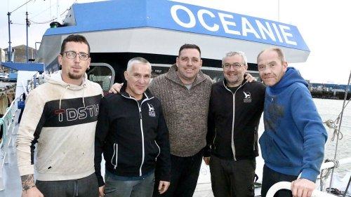 TEMOIGNAGES. Cinq marins pris dans la tempête Aurore : « Une deuxième vague nous aurait coulés ! »