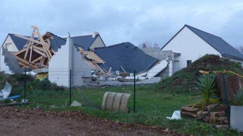 Tempête Aurore. Des rafales à 175 km/h, des toitures endommagées et des lignes de train coupées