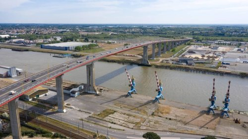 Nantes. Un homme s'est jeté du pont de Cheviré