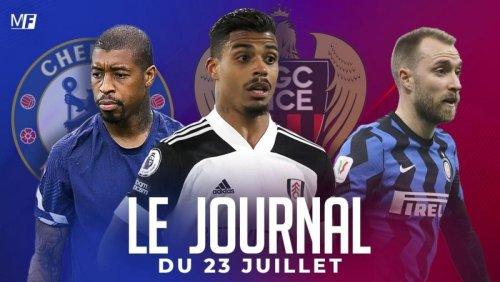 Kimpembe envisage un départ vers Chelsea, l'OGC Nice accélère son mercato, le retour d'Eriksen en Italie se complique : le journal du vendredi 23 juillet