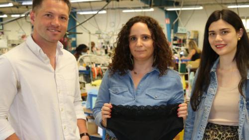 Lanester Couture investit 2 M€pour construire un nouvel atelier à Kervignac      - Agence API