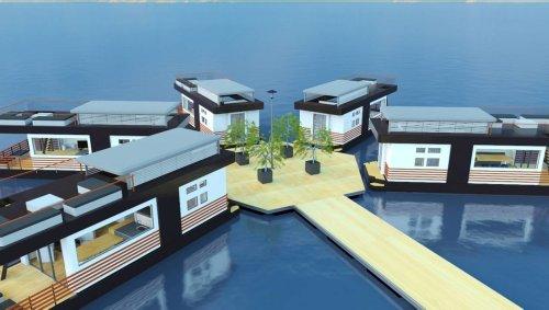 Innovation. SeaLoft imagine un village connecté flottant à Lorient