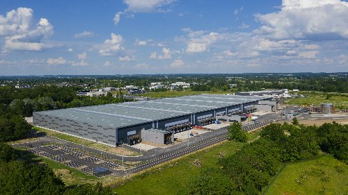 Une plateforme logistique de 34 550 m2 pour InVivo Retail à Angers      - Agence API