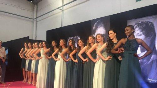 Les 14 prétendantes au titre de Miss Normandie 2021 ont défilé à la Foire de Caen