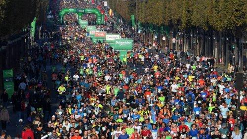 Marathon de Paris. 650 000 bouteilles d'eau, 24 tonnes de bananes… Les chiffres de la 45e édition