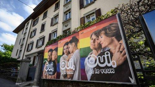 La Suisse s'apprête à approuver le mariage pour tous