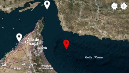 Un groupe lié à l'Iran aurait pris possession d'un pétrolier au large des Émirats Arabes Unis