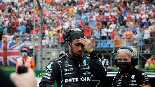 VIDÉO. Formule 1 - GP de Hongrie : scène insolite, Hamilton seul sur la grille de départ