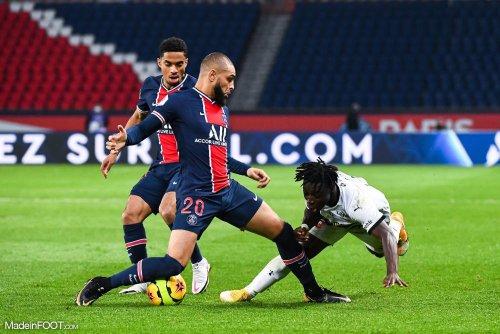 Le groupe parisien pour affronter Rennes