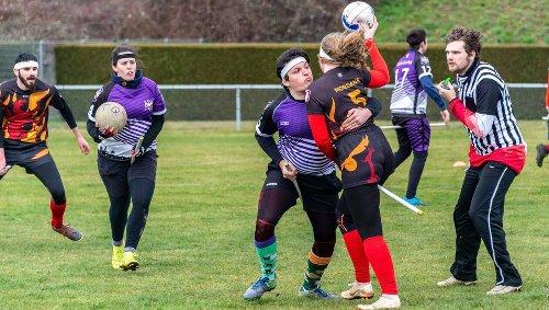 À la découverte du quidditch, un sport pas si sorcier