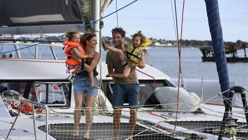 TÉMOIGNAGE. Cette famille lorientaise largue les amarres pour un tour du monde en voilier