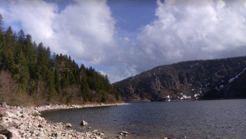 Haut-Rhin. Deux chiens coincés sur une falaise secourus par les pompiers près du lac blanc