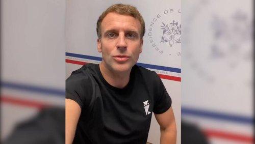 Emmanuel Macron et son t-shirt au hibou : qu'est-ce qui se cache derrière cette mystérieuse marque ?